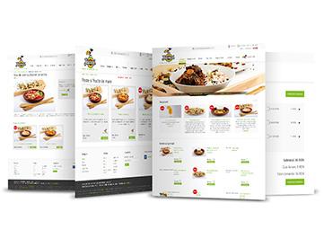 Creare site web de restaurant cu comenzi online si livrare la domiciliu Jamal Foods